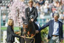Comme il faut machte seinen Reiter Ehning und seinen Züchter Beerbaum glücklich.