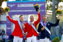 Fuchs, Thieme, Fredricson - EM-Medaillengewinner 2021